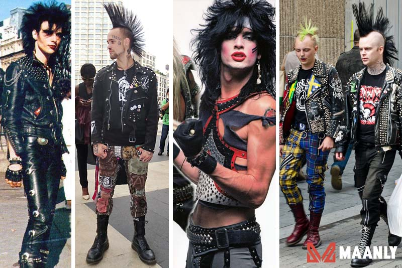 80s Punk Fashion
