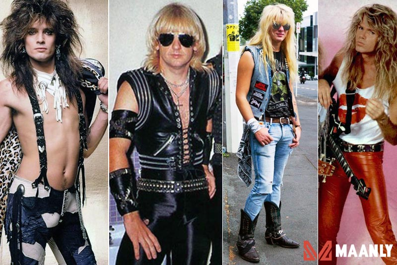 80s Rock Fashion
