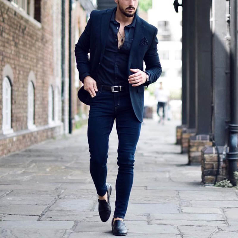 Black Blazer for Men