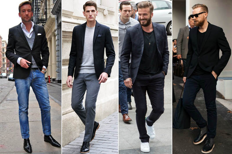 How to Wear a Black Blazer Like