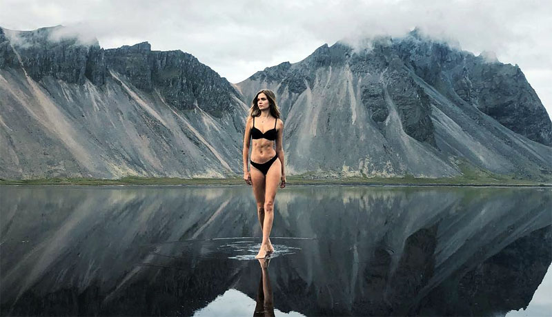 Josephine Skriver Bikini