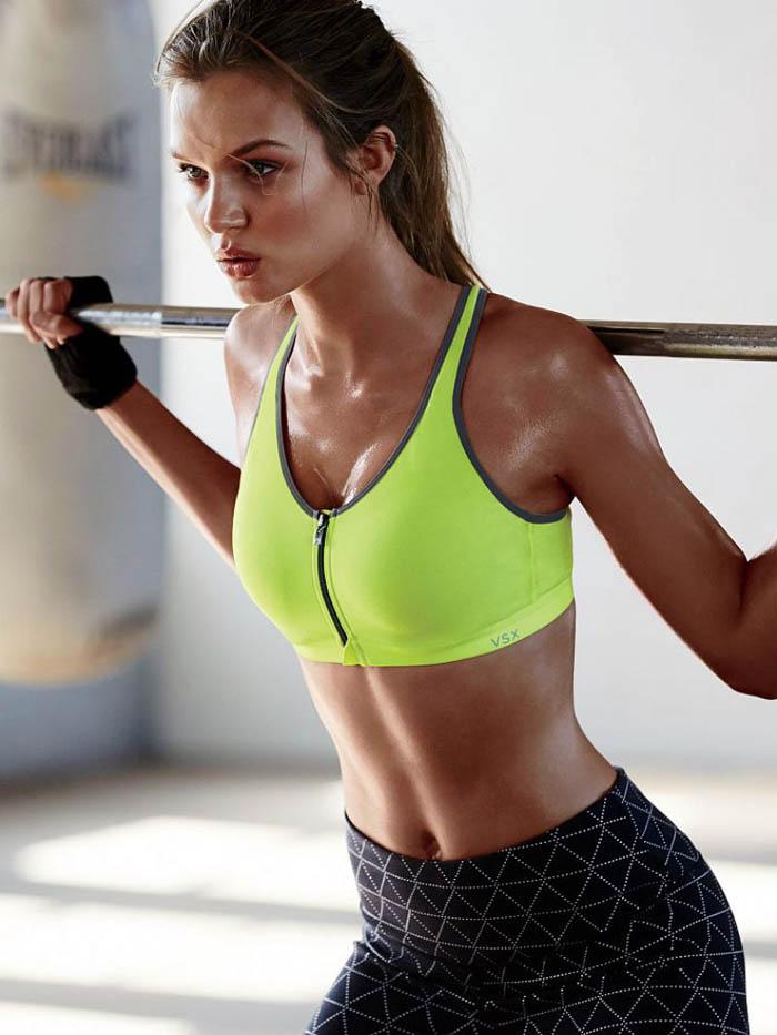 Josephine Skriver Workout