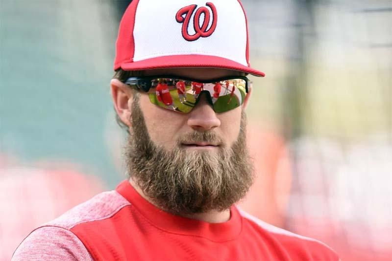 Bryce Harper Beard